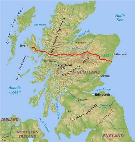 coast to coast cycling holiday scotland