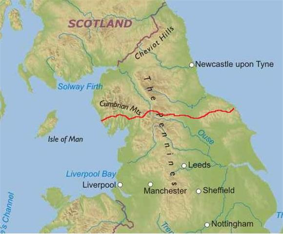 wainwrights c2c biking route