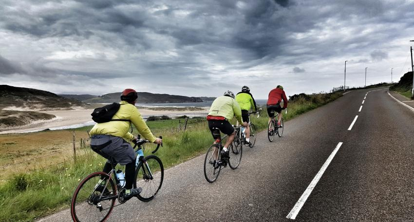 cycling holiday Scotland