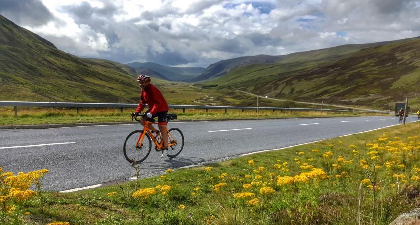road biking holiday scotland