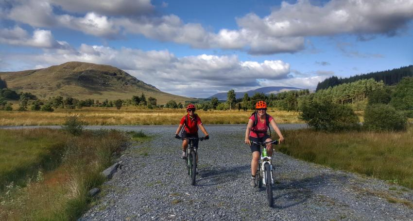 mountain bike southern upland c2c