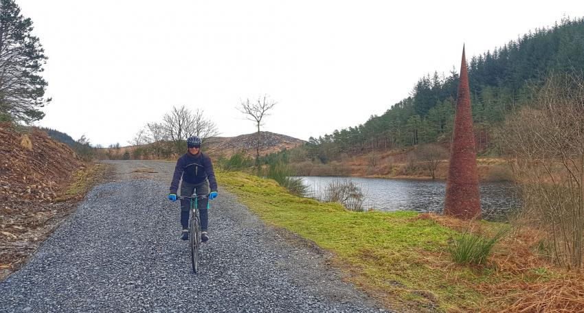 Long distance gravel bike route