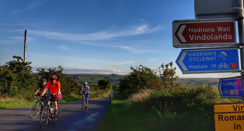 Hadrians Cycleway holiday
