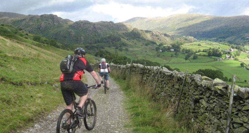 C2C mountain bike route
