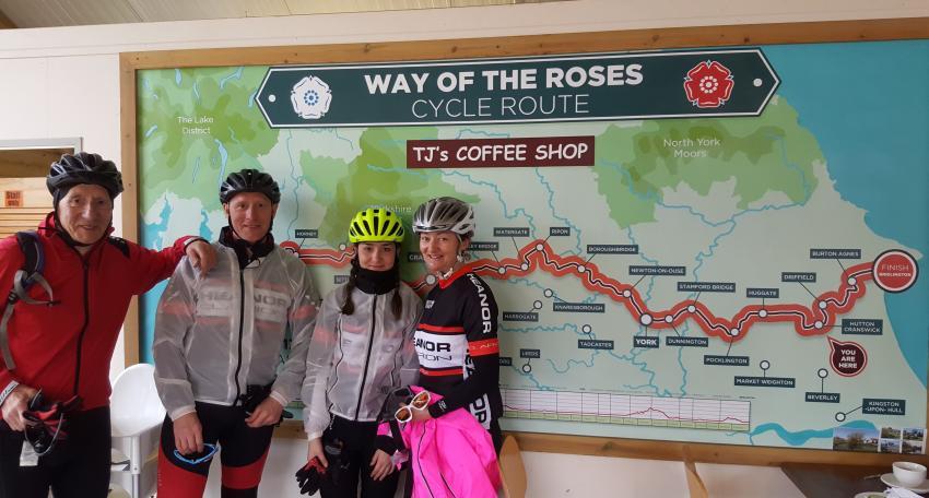 coast to coast cycling holiday