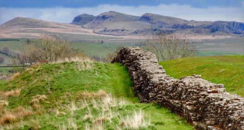 cycling hadrians wall