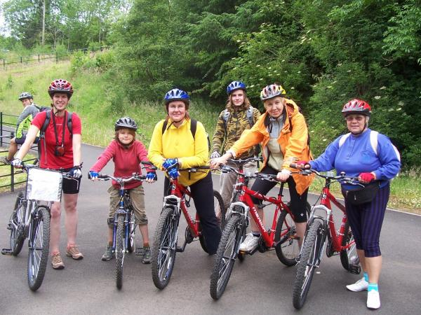 Cycling West Highland Way