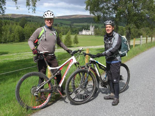 highland coast to coast mtb holiday
