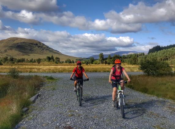 mountain bike southern upland c2c