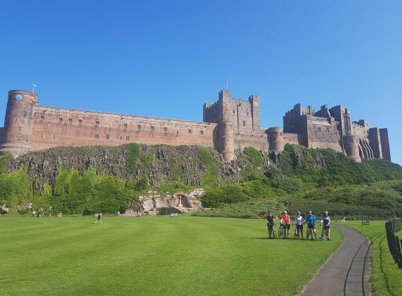 coast and castles cycling holiday uk